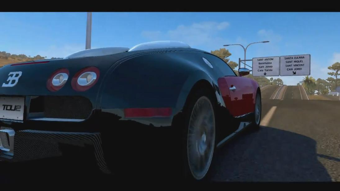 Test Drive Unlimited 2 - Bugatti Trailer screenshot 4