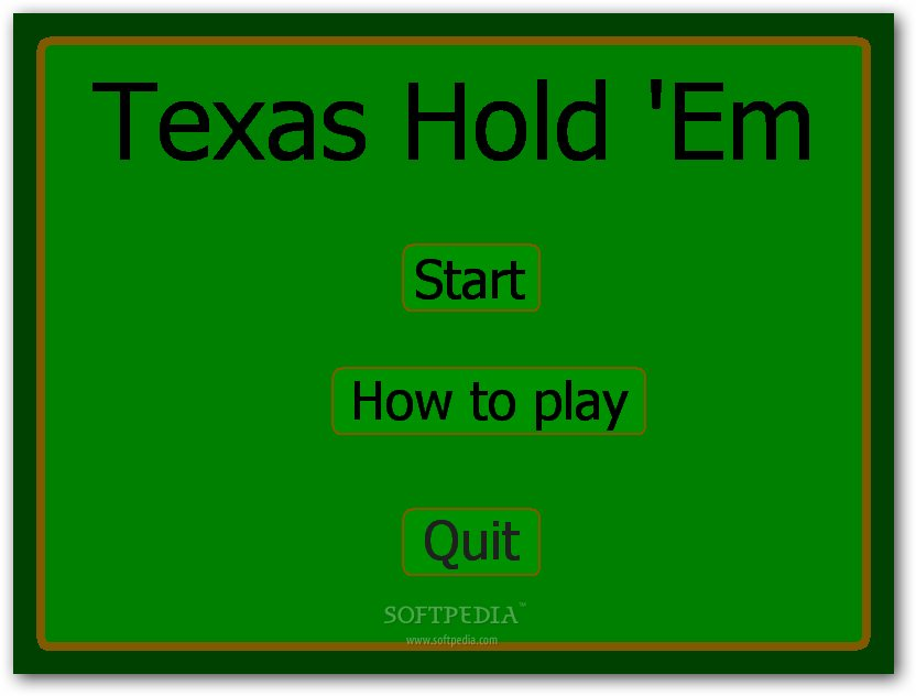 Texas Hold Em - Reborn screenshot 1