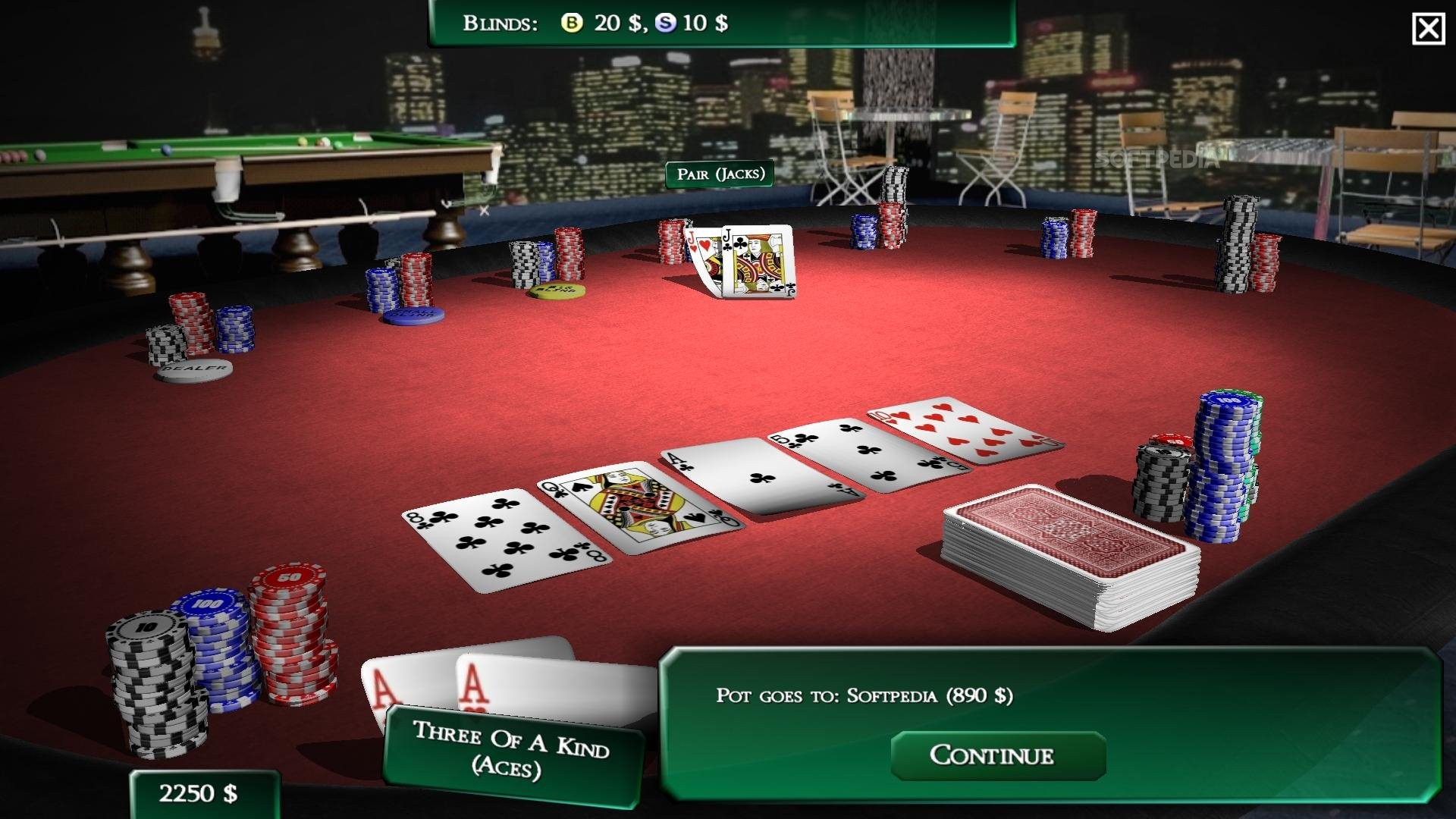 texas holdem simulator