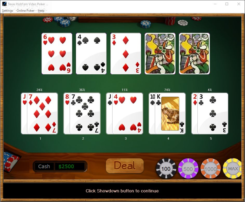 holdem game