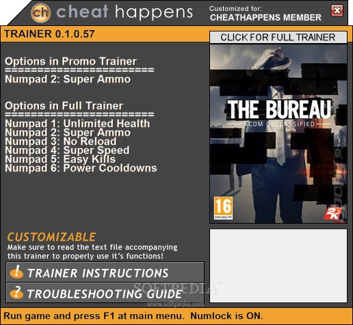 the bureau xcom declassified 1 trainer download. Black Bedroom Furniture Sets. Home Design Ideas