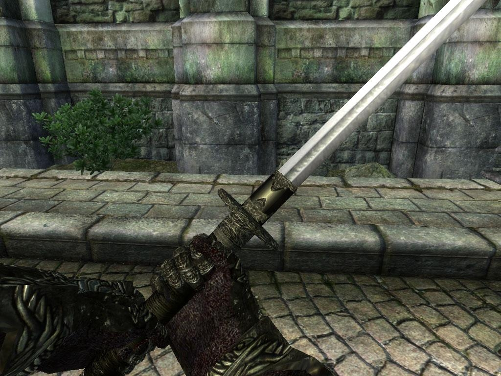 The Elder Scrolls IV: Oblivion Mod - Braided Dai Katana Replacer screenshot 1