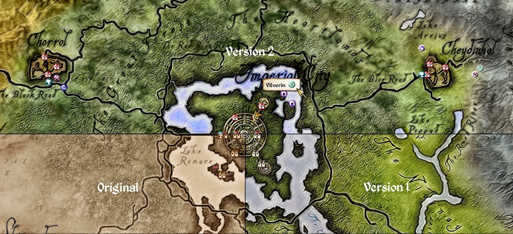 The Elder Scrolls IV: Oblivion Mod - Elven Map Redux screenshot 2