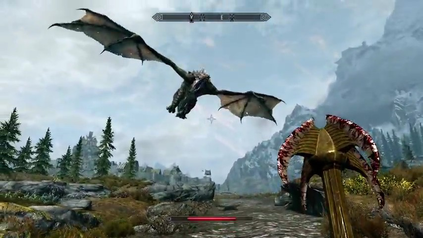 I1 Gamessoftpedia Static Screenshots The Elder Scrolls V Skyrim Gameplay Demo Trailer 3 6