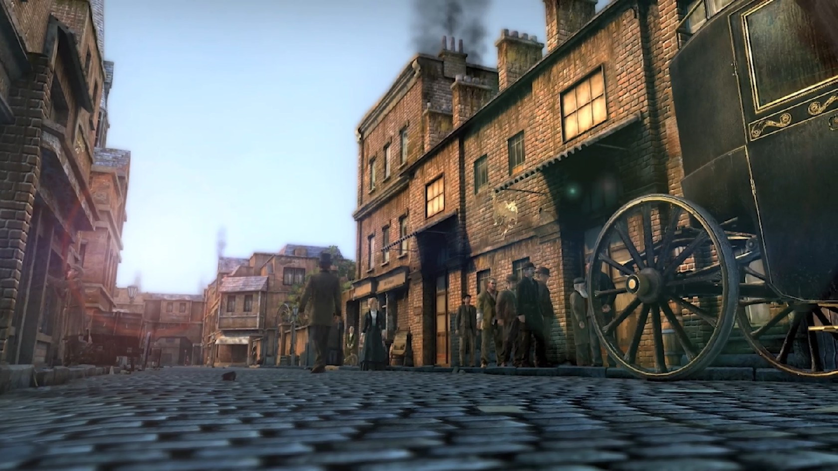 Screenshot 1 of The Testament of Sherlock Holmes Protection Patch for Windo