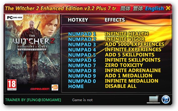 The Witcher 2: Assassins of Kings: Enhanced Edition +7 ...