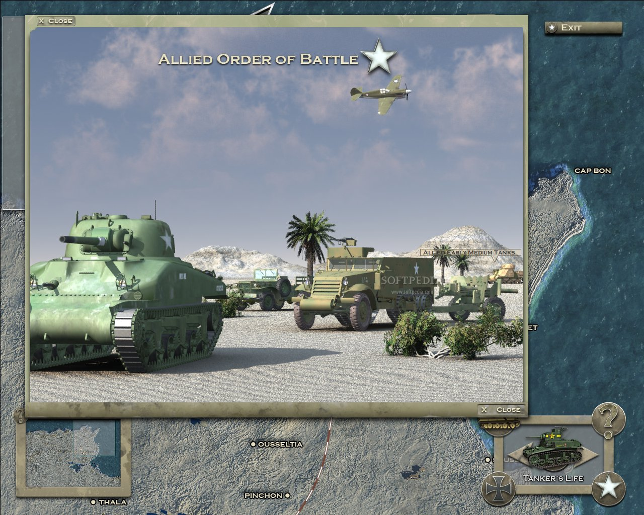 Theatre of War 2: Afrika 1943 Strategy Guide Demo screenshot 1
