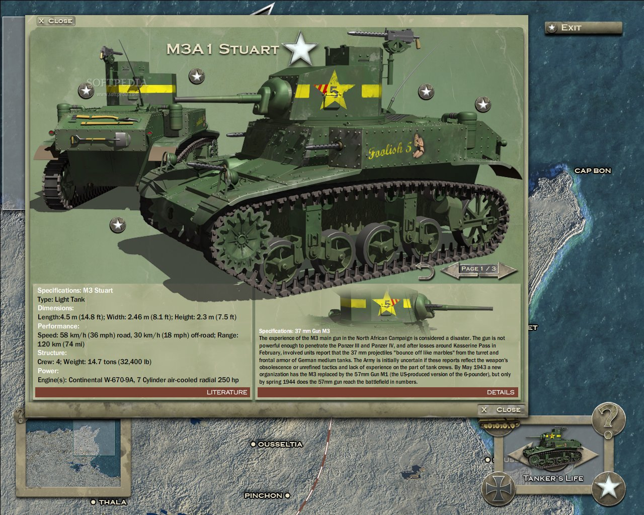 Theatre of War 2: Afrika 1943 Strategy Guide Demo screenshot 2