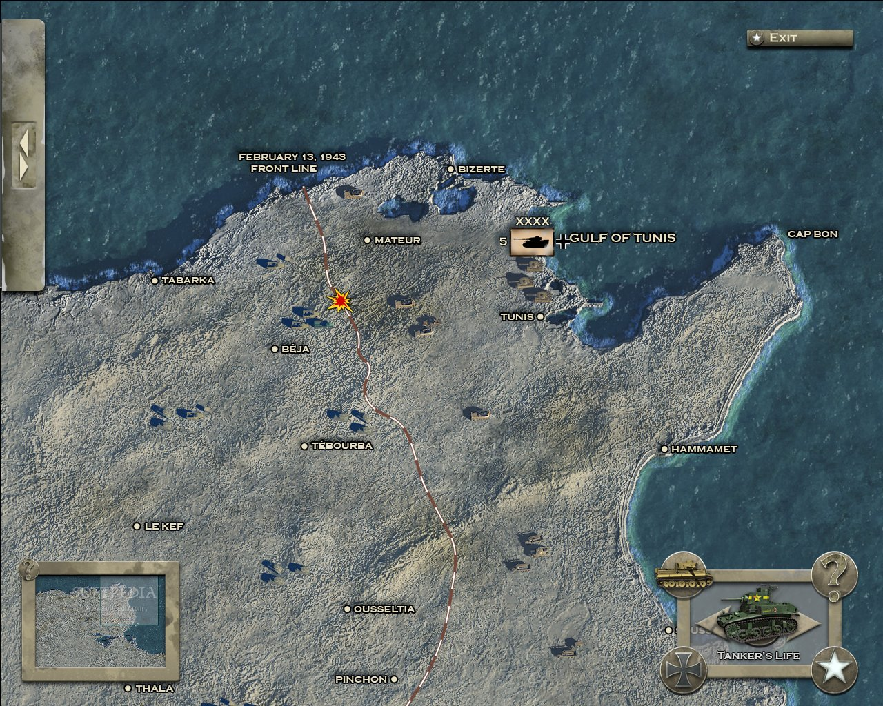Theatre of War 2: Afrika 1943 Strategy Guide Demo screenshot 3