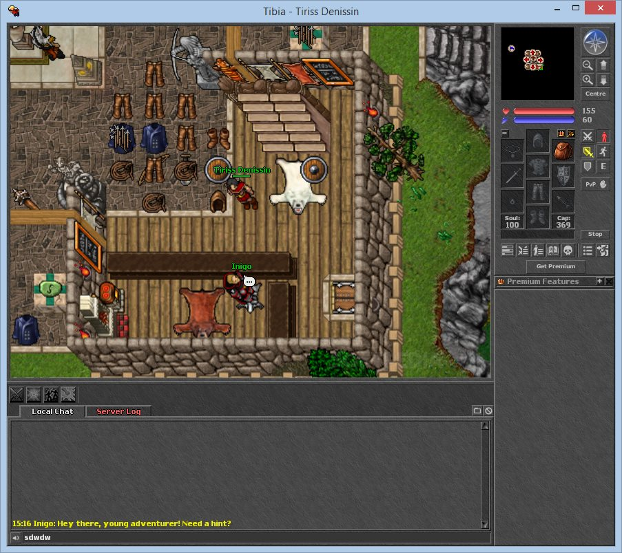 Tibia Client screenshot 1
