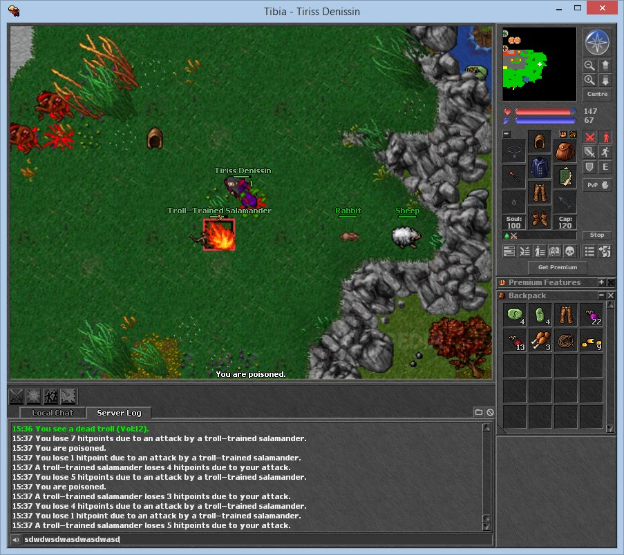 Tibia Client screenshot 3