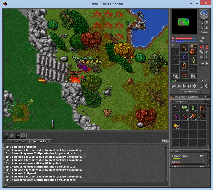Tibia Client screenshot 4