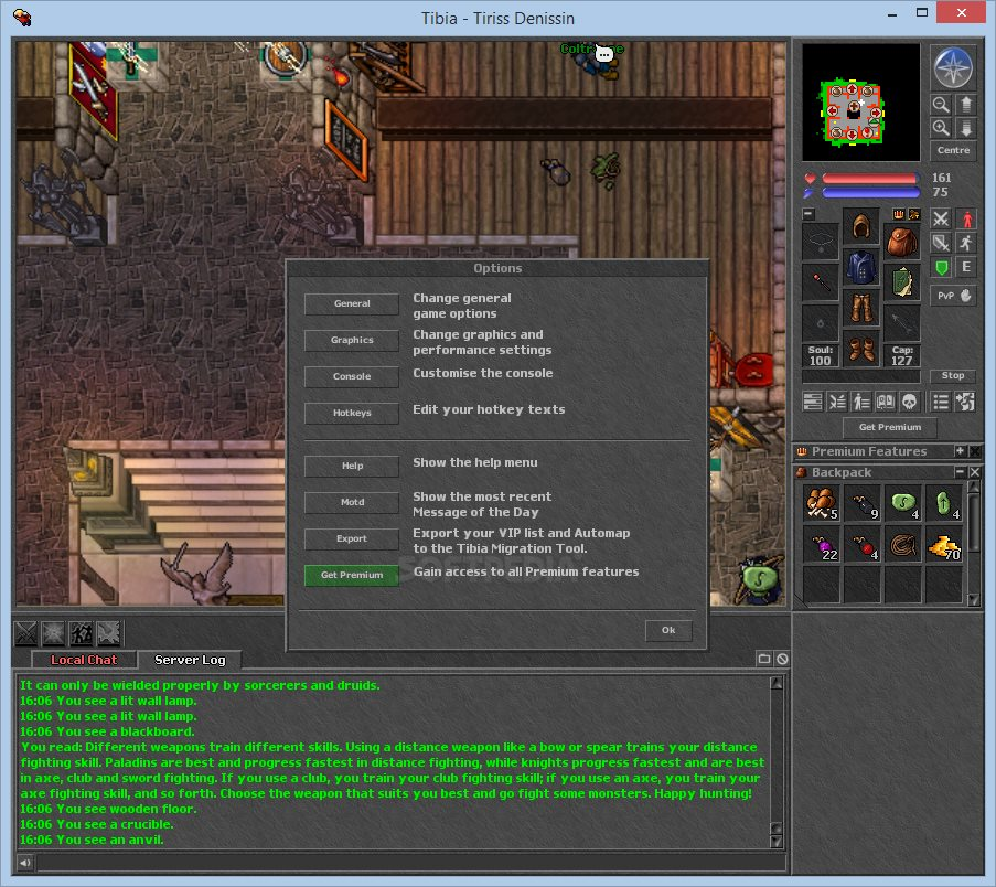 Tibia Client screenshot 5