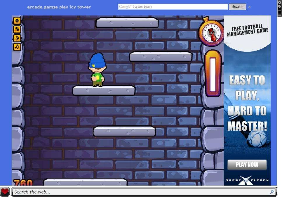 icy tower game online