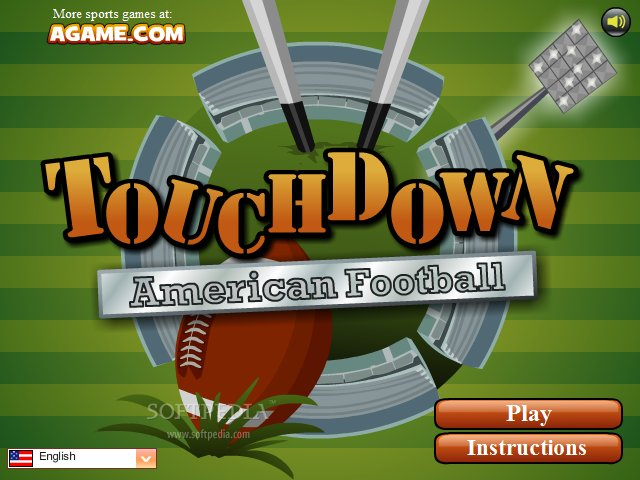 touchdown american football game