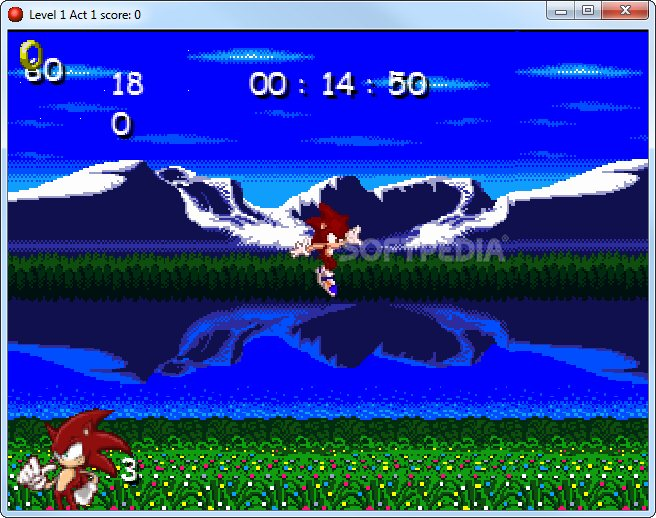 Turbo The Hedgehog Origins 1 screenshot 2