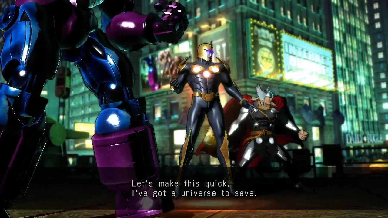 Ultimate Marvel vs Capcom 3 - Nova vs. Phoenix Wright Gameplay Trailer screenshot 1