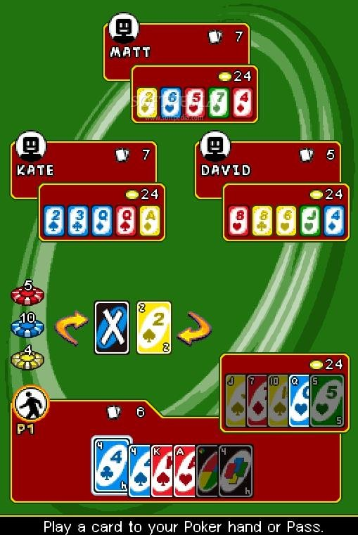 uno 3 card game free download