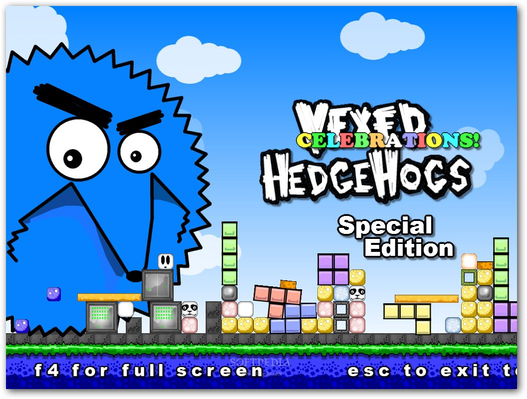 Vexed Hedgehogs Celebrations screenshot 1