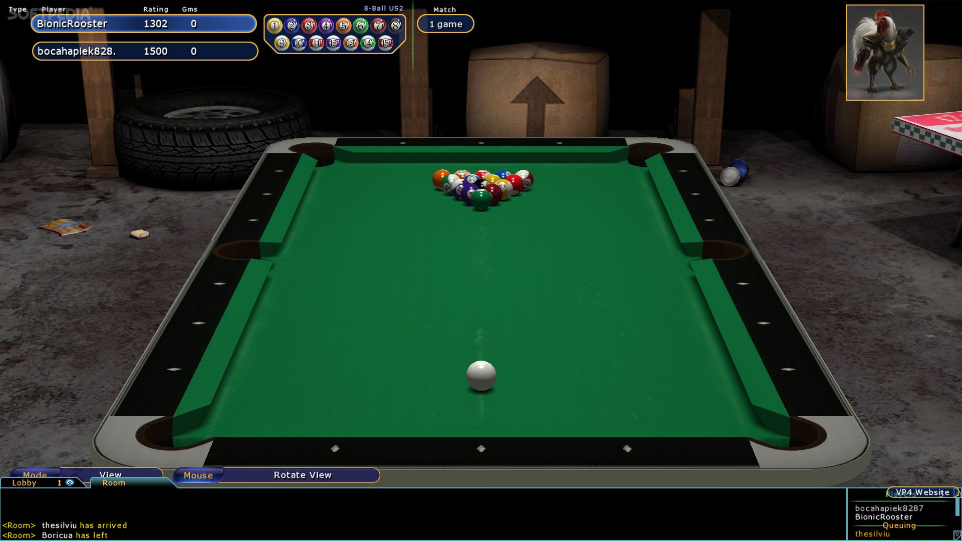 Virtual Pool 4 Online Download