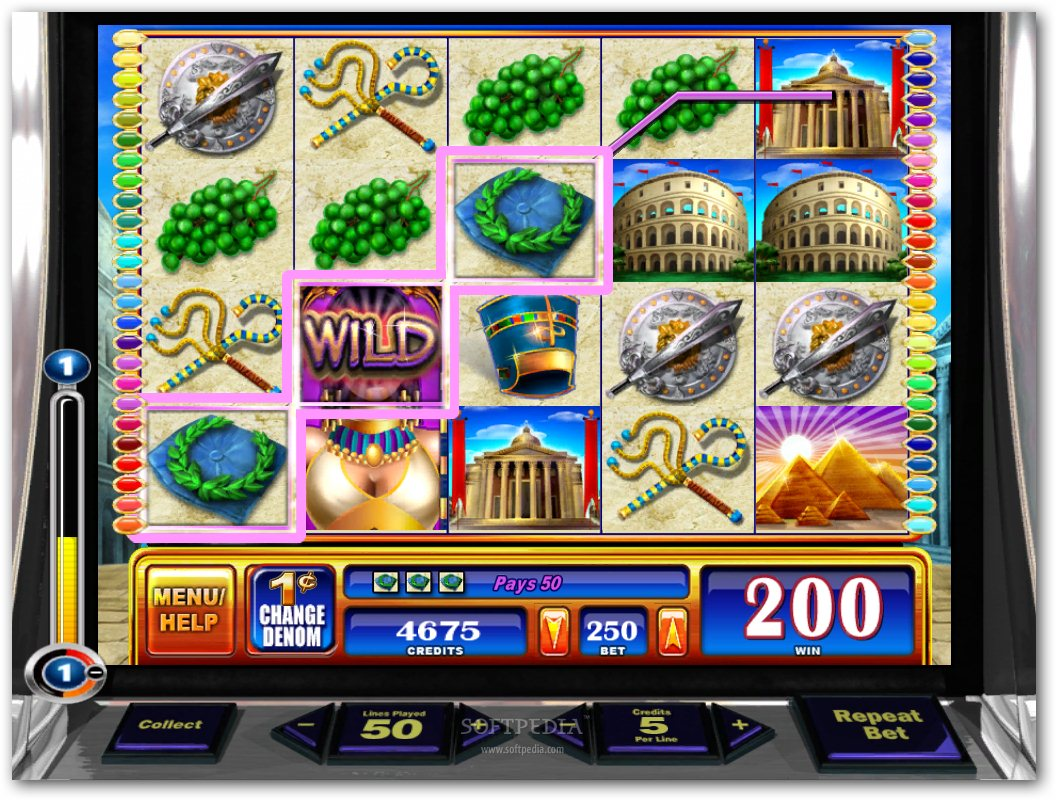 free slots games rome and egypt
