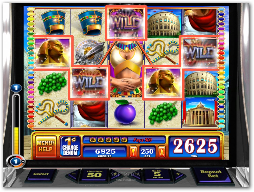 Rome And Egypt Slots