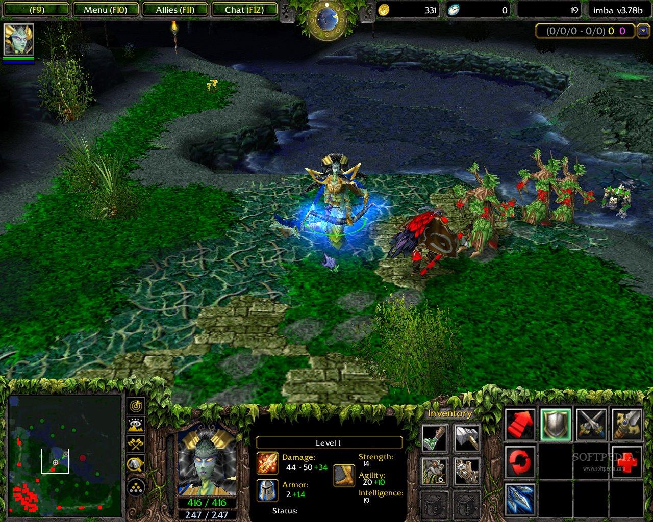 Dota Allstars Warcraft 3 Frozen Throne Lingluna S Blog