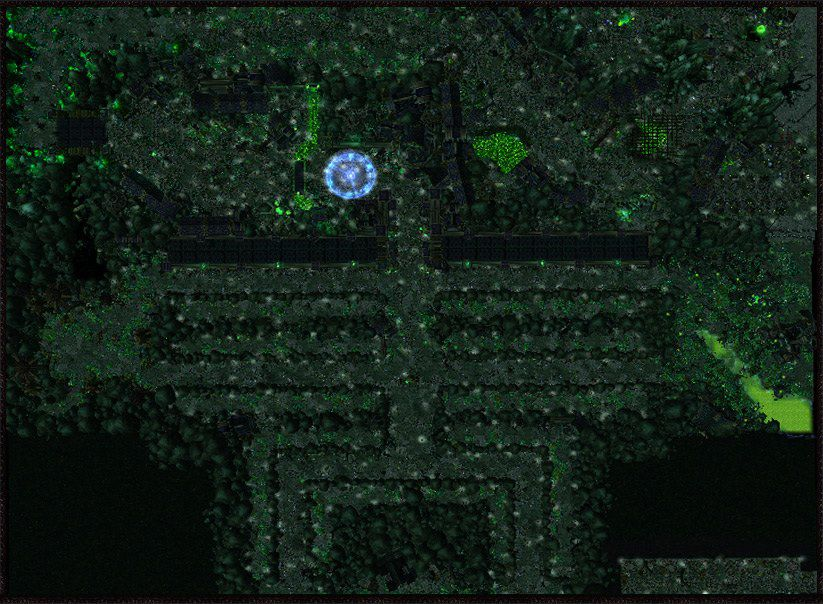 Warcraft 3 Map - Defense of the Undead screenshot 1