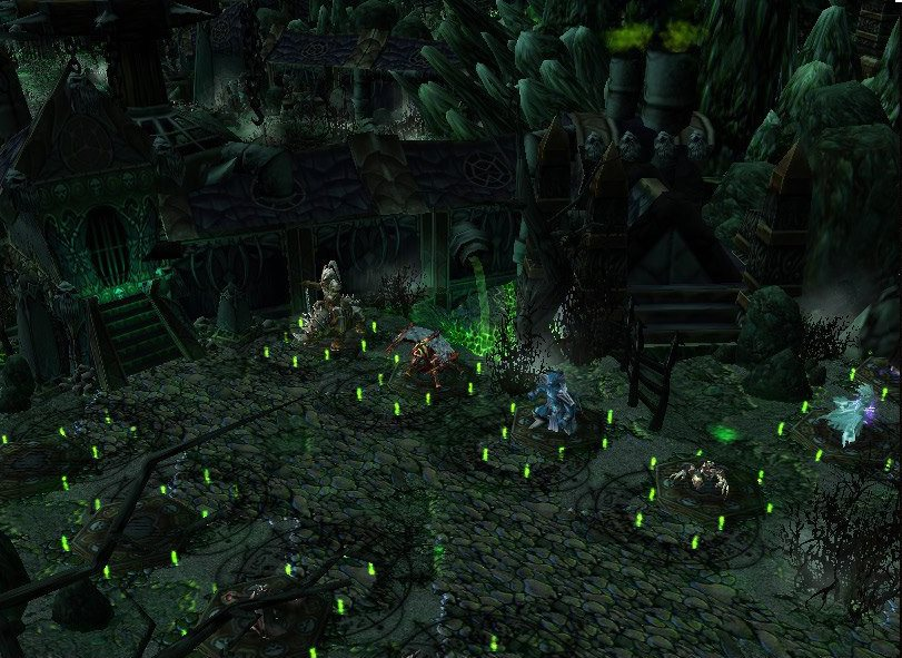 Warcraft 3 Map - Defense of the Undead screenshot 2