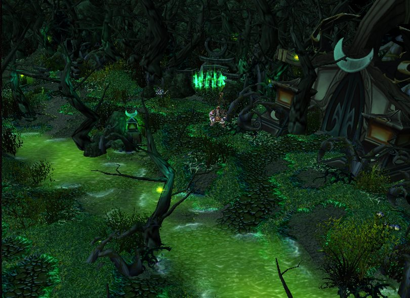 Warcraft 3 Map - Defense of the Undead screenshot 3