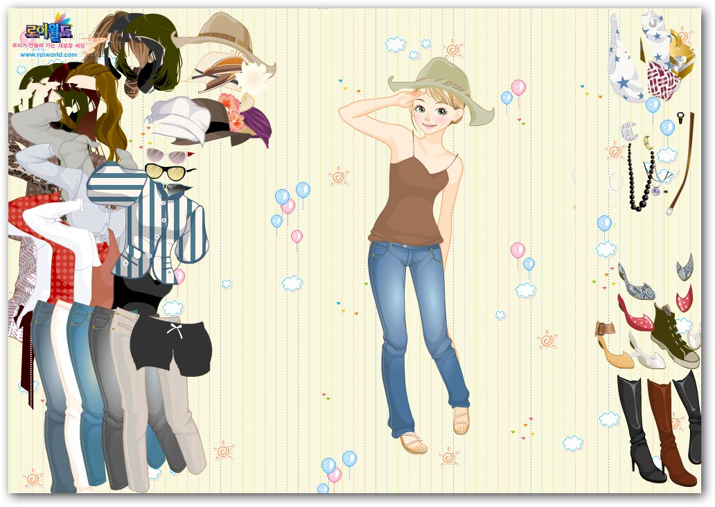 Western Girl Dress Up screenshot 2