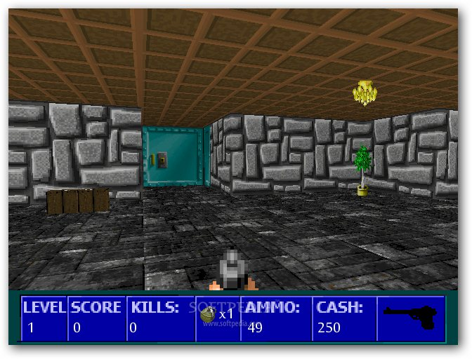 Wolfenstein 3D Nazi Zombies screenshot 1