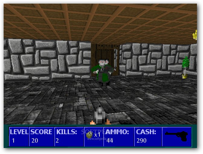 Wolfenstein 3D Nazi Zombies screenshot 2