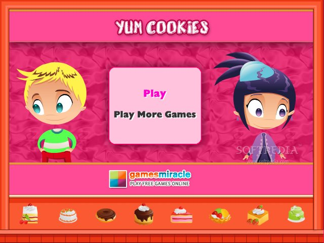 Yum Cookies screenshot 1