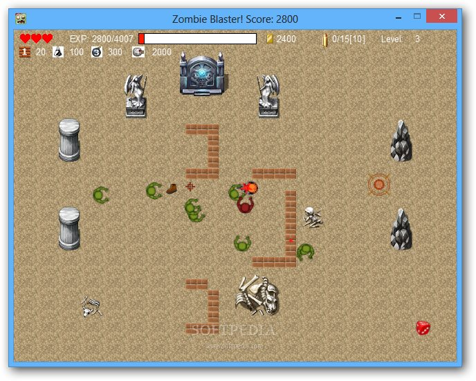 Zombie Blaster screenshot 4