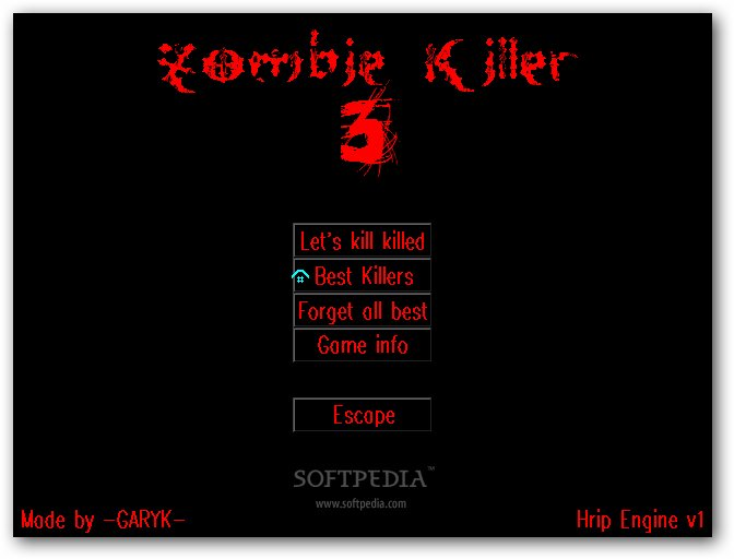 Zombie Killer 3 screenshot 1
