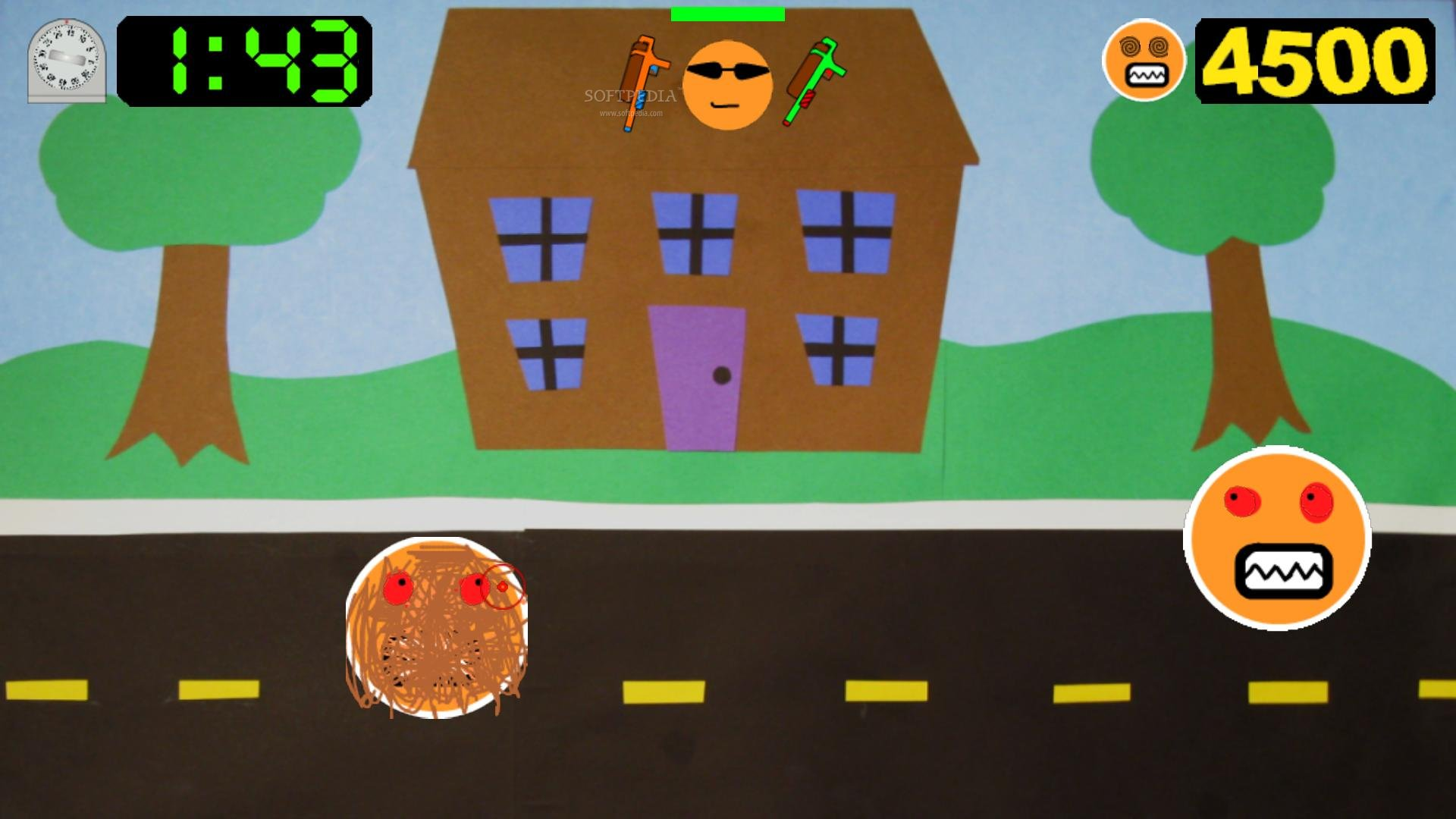Zombie Pancake Attack screenshot 4
