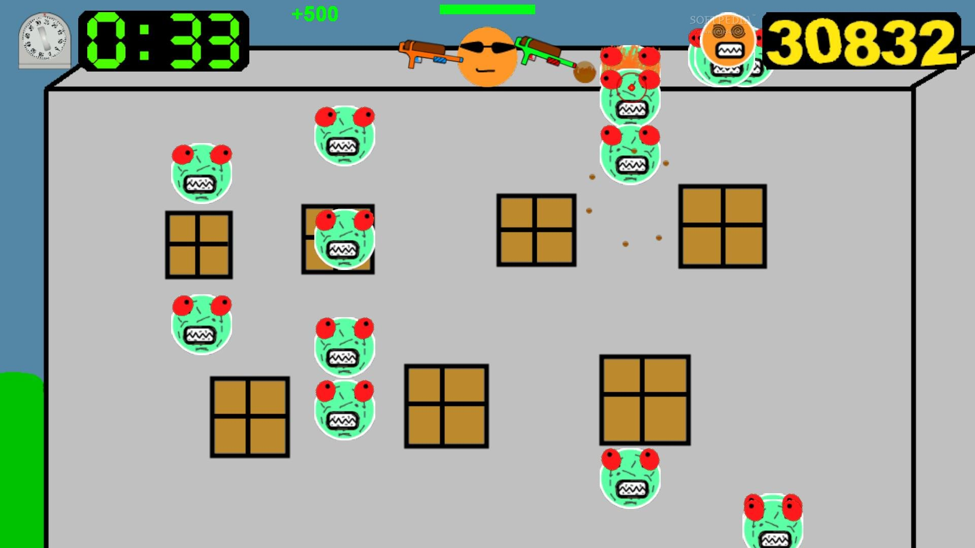 Zombie Pancake Attack screenshot 8