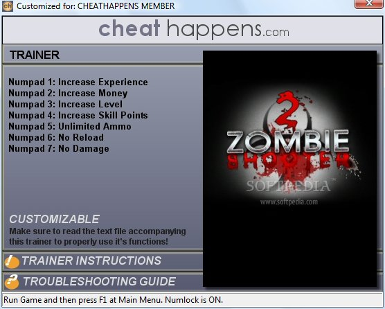 shooter 2 cheat zombie shooter 2 trainer zombie shooter cheat trainer