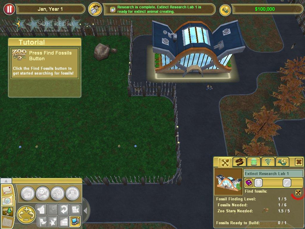 Zoo Tycoon 2: Extinct Animals Demo Download
