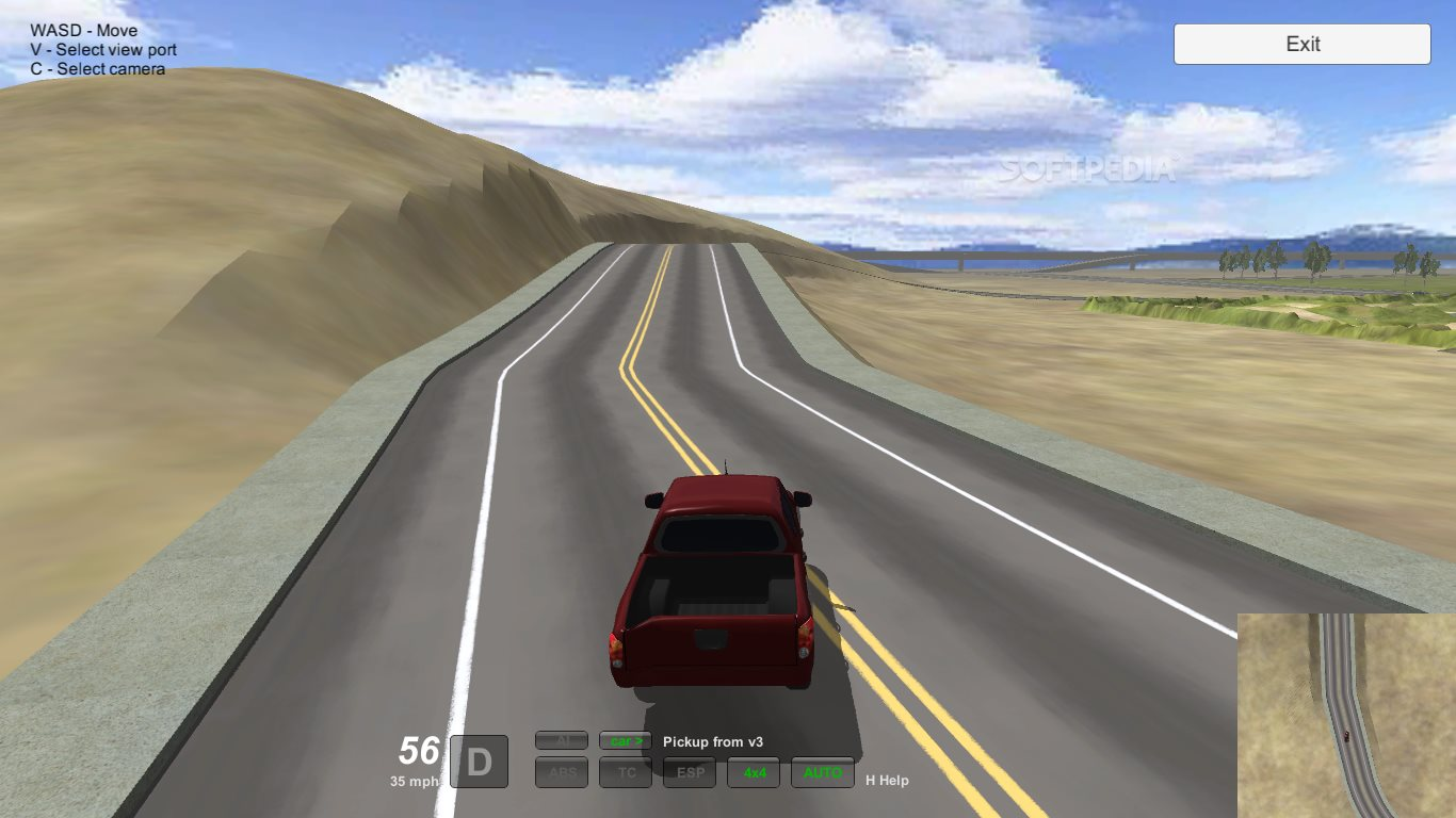 Driver simulator 3d 2015 download for Simulatore 3d