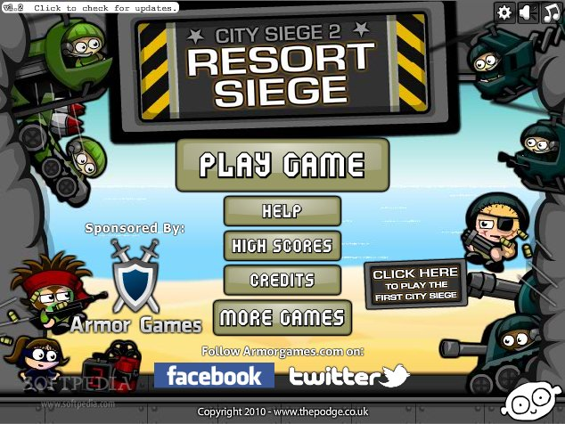 City Siege 2: Resort Siege screenshot 1