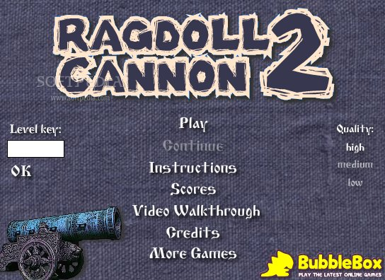 Ragdoll Cannon 2 screenshot 1