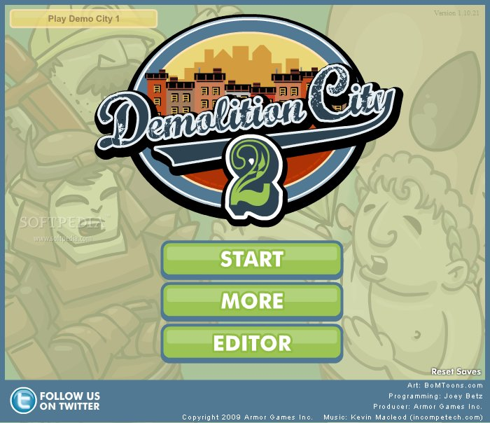 Demolition City 2 screenshot 1