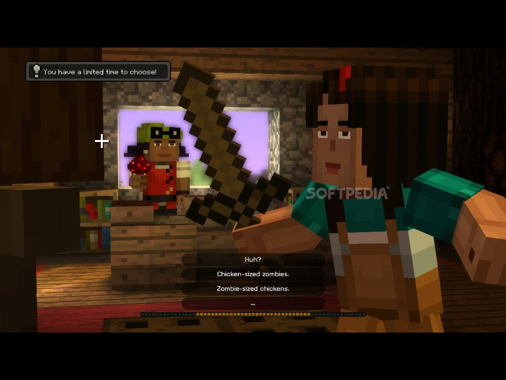Minecraft story mode episode one demo download for Mine craft free demo