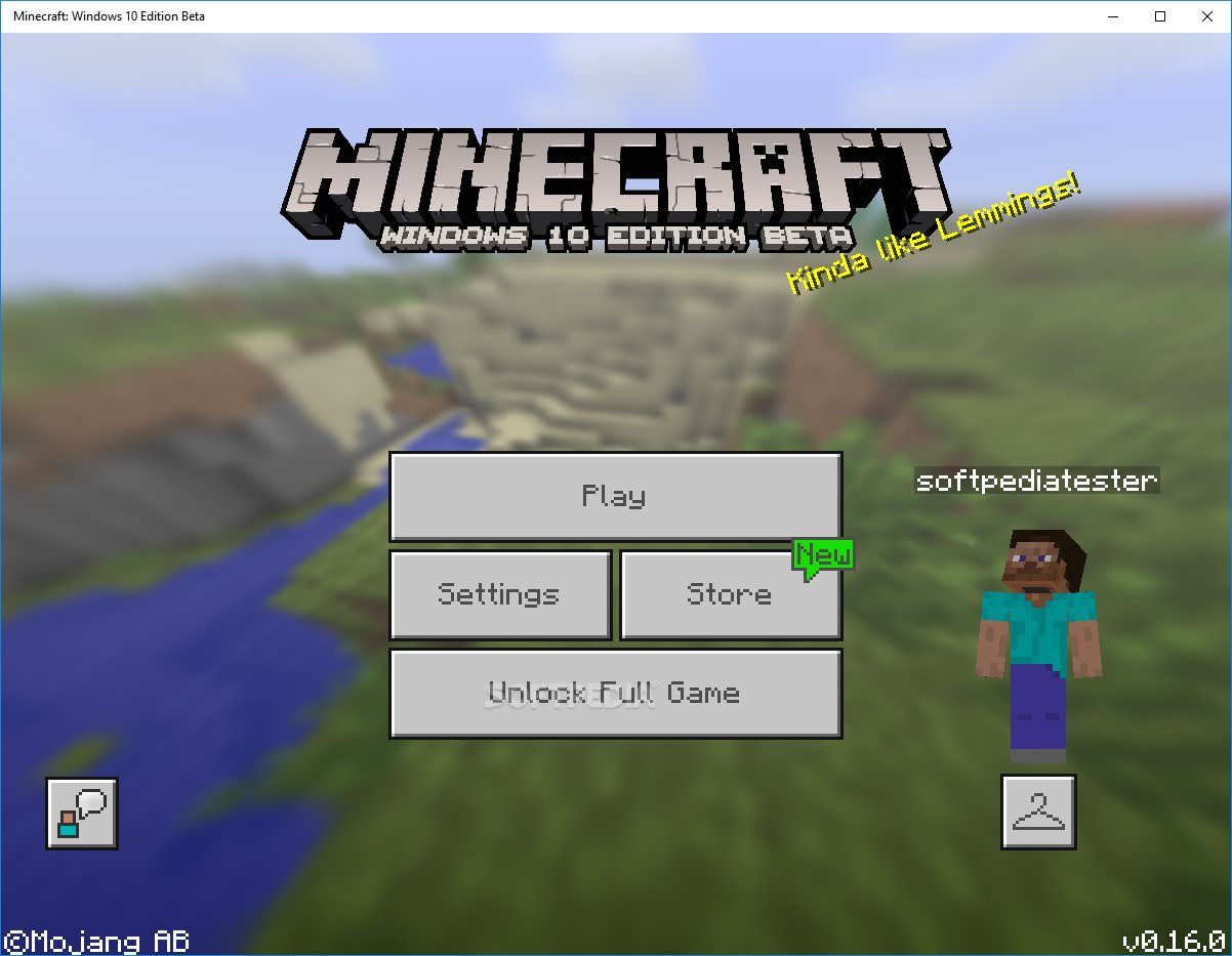 minecraft apk pc windows 10