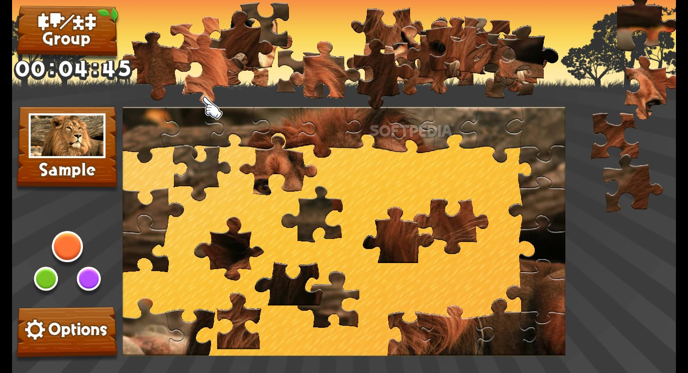Wild Animals - Animated Jigsaws Demo Download